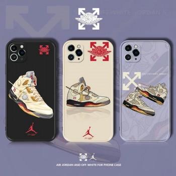 ジョーダンオーフホワイト iphone12 pro/12 miniケース グッチiphone12 pro maxケース 個性ブランドAirpods proケース 潮流人気