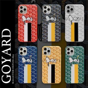 シュプリームス ヌーピーiphone12 pro/12 miniケースゴヤールsnoopy iphone12 pro maxケースブランドairpods proケース個性人気