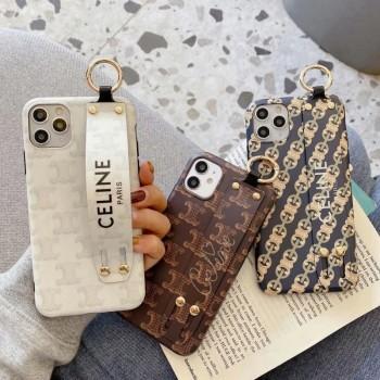 セリーヌ iphone12 pro/12 miniケース クロムハーツGalaxy s21/s20 plusケース ブランド Airpods proケース可愛い人気
