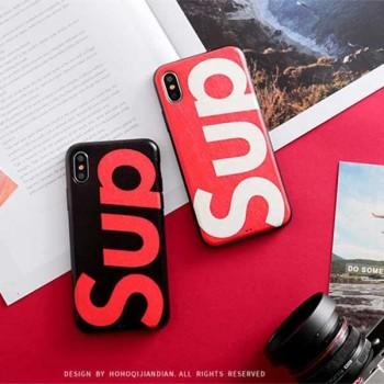 シュプリーム iphone xsケース カップル向け supreme iphone xr/xs maxケース