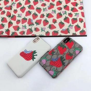 グッチ ギャラクシーS10プラスケース イチゴ GUCCI iPhone xrケース