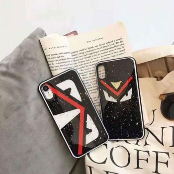 フェンデイ iPhone xr/xsカバー 個性 ブランド supreme アイフォン xs max/xケース 男女兼用