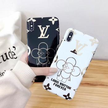 LV iphone xs maxケース カイカイキ キ花 ブランド ヴィトン アイフォン xs/xrケース レディース向け