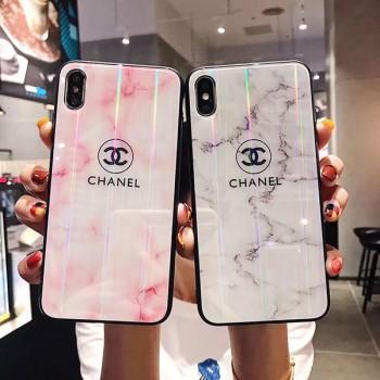 CHANEL iphone x/xsガラスケース レディース ヴィトン アイフォン XS MAX/XRケース