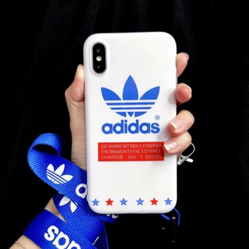 iphone xs/xiケース アディダス メンズ レディスアイフォン xs max/xrカバー LV