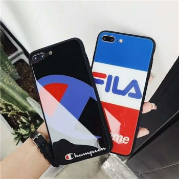 iPhoneXSMAX ケース チャンピョン Stussy アイフォンxs/xr カバー オシャレ セレブ愛用