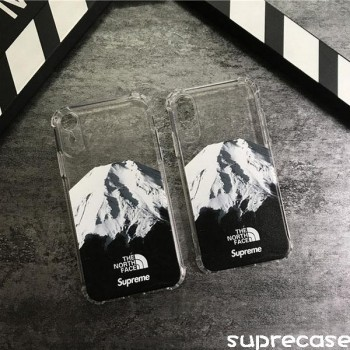 SupremeThe North Faceコラボ iPhone xrケース シュプリーム Galaxy s10 plusケース