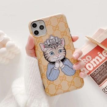 グッチ アイフォン11プロマックス携帯カバー 全機種対応  ブランド強化ガラスフィルム 送料無料