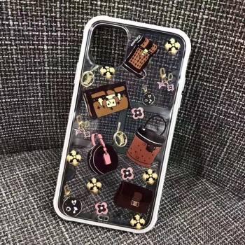 お洒落ブランドiphone11proケースブランド iphone11/11pro maxケース透明個性