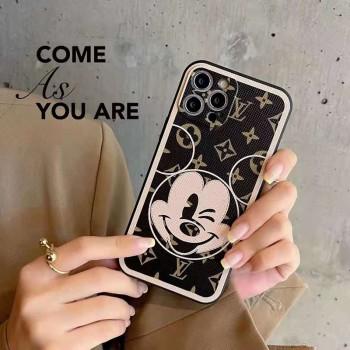 可愛い ミッキー IPhone12携帯カバー CHANEL/シャネル玄関マット