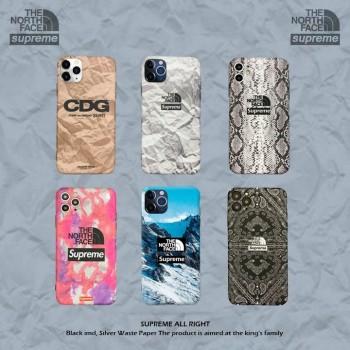 シュプリームノースフェイスiphone11proケースブランドiphoneSE2ケースフェンデイgalaxy s20ケース