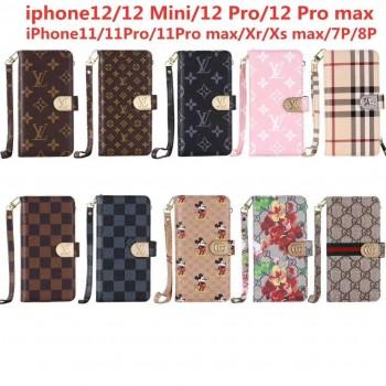 バーバリー iphone12 mini/12 proケース エムシーエム iphone12 pro maxケースブランド Airpods proケースメンズレディース人気