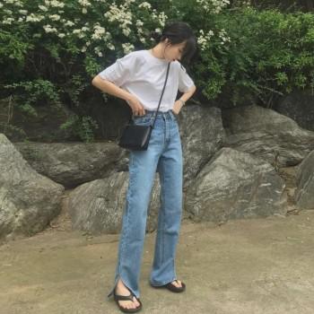 この夏のズボンは、この夏のワイドレッグズボンよりも暑いのですが、着てみませんか?