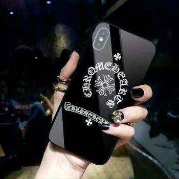 クロムハーツiphone12/12 proケース iphone11 proケースシュプリームステューシー ブランドアップルウオッチバンド個性潮流
