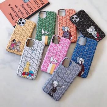 ゴヤール iphone12/12 proケースシャネル iphone12 mini/12 pro maxケース ブランド アップルウォッチバンド