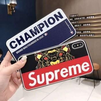 ストリート系supreme iphone8 iphone8plusケース 新作 シュプリームiphone7/7 plusケースレッド 夜光 iphone7plusケース 個性的な アイフォン6s/6ケース 男女兼用