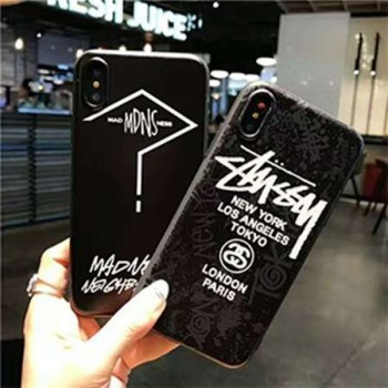iPhone xケース ステューシー アイホン8 ケース オシャレ Stussy iphone8plusカバー カップル用