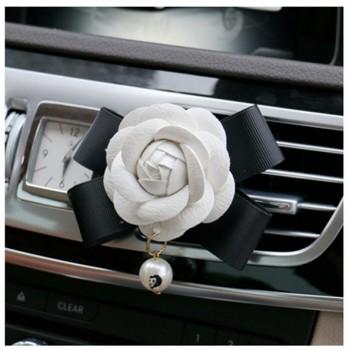 CHANEL パロディカメリア 車用芳香剤 シャネル ギヤシフトノブカバー ハンドブレーキカバー おしゃれ