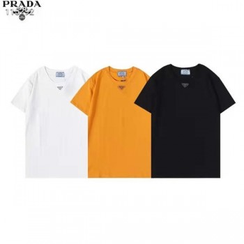 プラダ Tシャツ Prada 半袖 t-shirt プリントロゴ