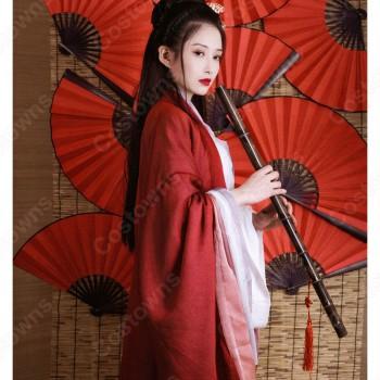 漢服 コスプレ衣装 中国伝統衣装 古風 剣士風 かっこいい 中国時代劇 学園祭 おしゃれコス服