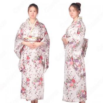 女性浴衣 和服 着物 日本伝統服 舞台衣装 コスプレ衣装 コスチューム 写真撮影 演出服 花柄