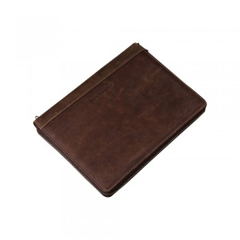Whatna セカンドバッグ メンズ クラッチ バッグ 厚手 本革 牛革 12枚カード収納可