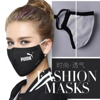 ブランドプーマ マスク コロナ対策 シュプリームマスク 子供 3D立体マスク 男女兼用