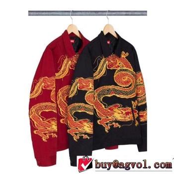 手頃価格でオシャレ ハーフコート Supreme 18FW WEEK5 Dragon 超目玉人気通販品 2色選択可 赤字覚悟の超破格