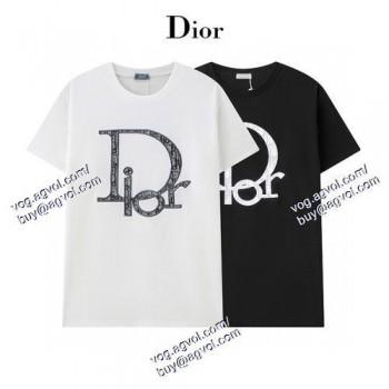 高評価の人気品 2020春夏新作 Tシャツ/半袖 2色可選 ディオール DIOR