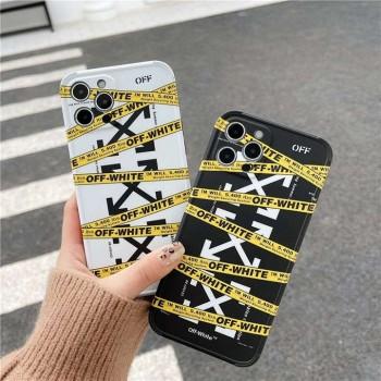 全面保護 Off White ケース iPhone 12mini オフホワイトケースiPhone 12Promax ハイブランドスマホケースオフホワイトiPhone 11Pro/11Promax/11 Off White カバー