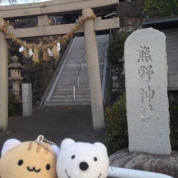 クマ散歩:荒崎・潮騒のみちに品行方正なクマ出没 (熊野神社他 Kumano Jinja Shrine etc.)