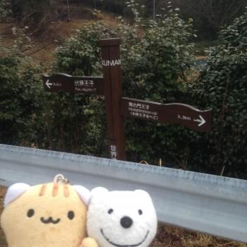 クマの古道散歩:伏拝王子で品行方正なクマは、めはり寿司とさんま寿司を堪能