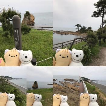 クマ散歩:佐島・大楠山のみちに品行方正なクマ出没 (立石公園)