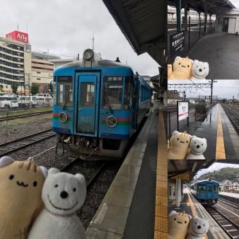 クマ散歩:京都丹後鉄道宮豊線で豊岡から天橋立に転送