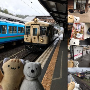 クマ散歩:京都丹後鉄道宮豊線&宮舞線で天橋立から西舞鶴に転送
