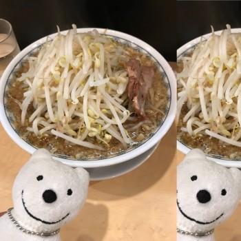 先日の らーめん 中 野菜 多め/らーめん大