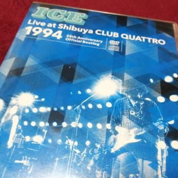 ICE/Live at Shibuya CLUB QUATTRO 1994!