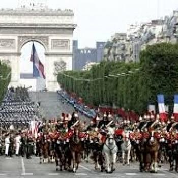 フランス革命記念日!