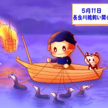 長良川鵜飼い開き!