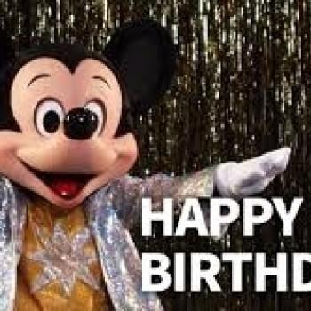 ミッキーマウスの誕生日!