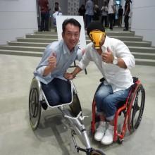 東京マラソン 車いすマラソン講演会