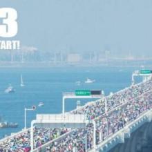 アクアラインマラソン2016の海景色