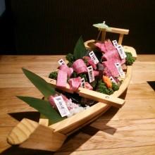 X21お肉の舟盛り(゜∇^d)!!