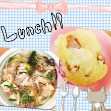 お昼ごはん♪( ´▽`)