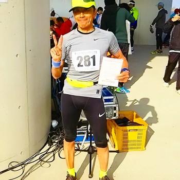 木曽三川マラソン大会エントリーrun🏃