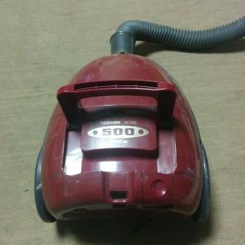 この暑さに20年物の掃除機が・・・【東芝 chica 500 vc-d5k】