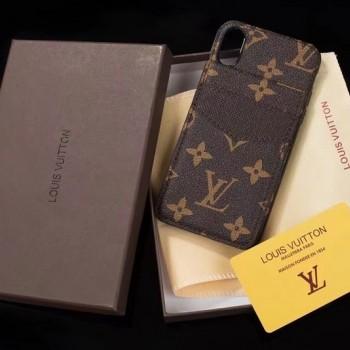 ポケット付きルイヴィドンGalaxy S9/S9+ケース ブランド IPOHNE Xカバージャケット