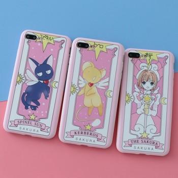 iphone8/8 plusケース 魔法少女カードキャブレターさくら女性愛用