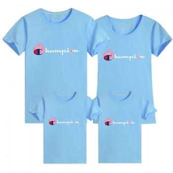 ブランドSupreme&ペッパピッグ可愛いTシャツ シュプリームカップルむけ親子ウェアカラフル激安快適