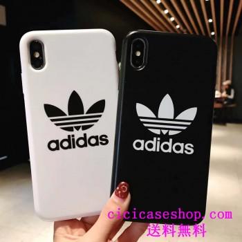 Adidas iPhoneXr Xs Maxケースペアおすすめ アイフォンx/10 個性カバーお洒落